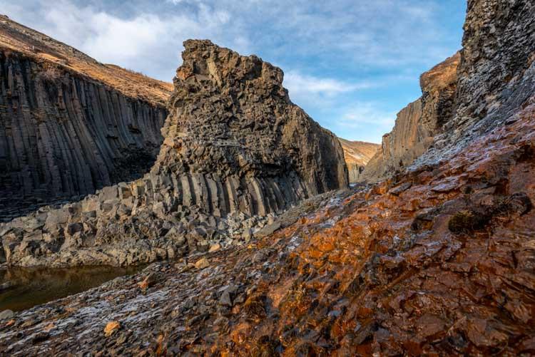 STuðlagil, een paradijselijk mooi stukje IJsland