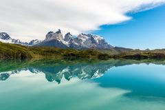 De bergrug Cordillera Paine