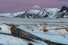 Sneeuw in IJsland