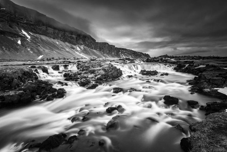 Fossalar, de kleine onbekende waterval