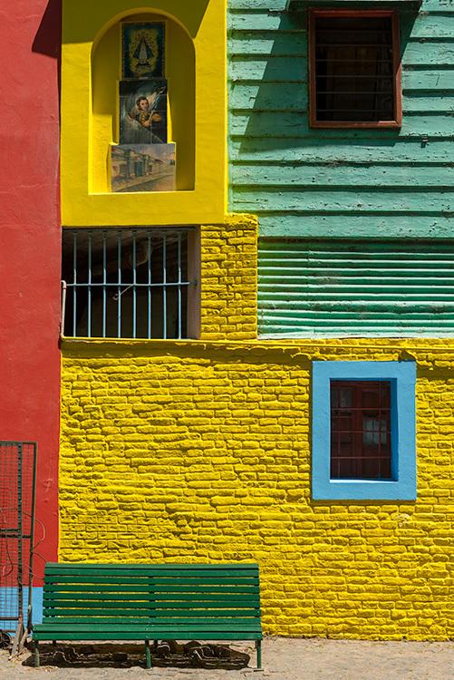 De kleurrijke wijk La Boca in Buenos Aires